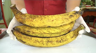 How to Make PLANTAIN Ice Cream Rolls