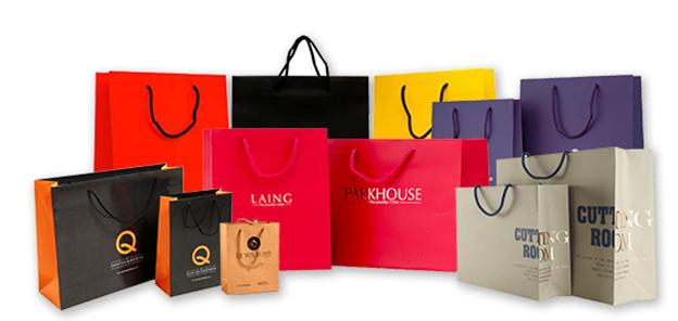 Các mẫu túi giấy đẹp cho shop