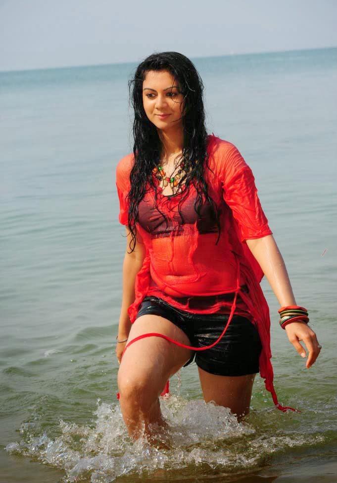 Kamna Jethmalani Hot Photos in Red Short Dress