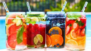 manfaat dan cara membuat infused water