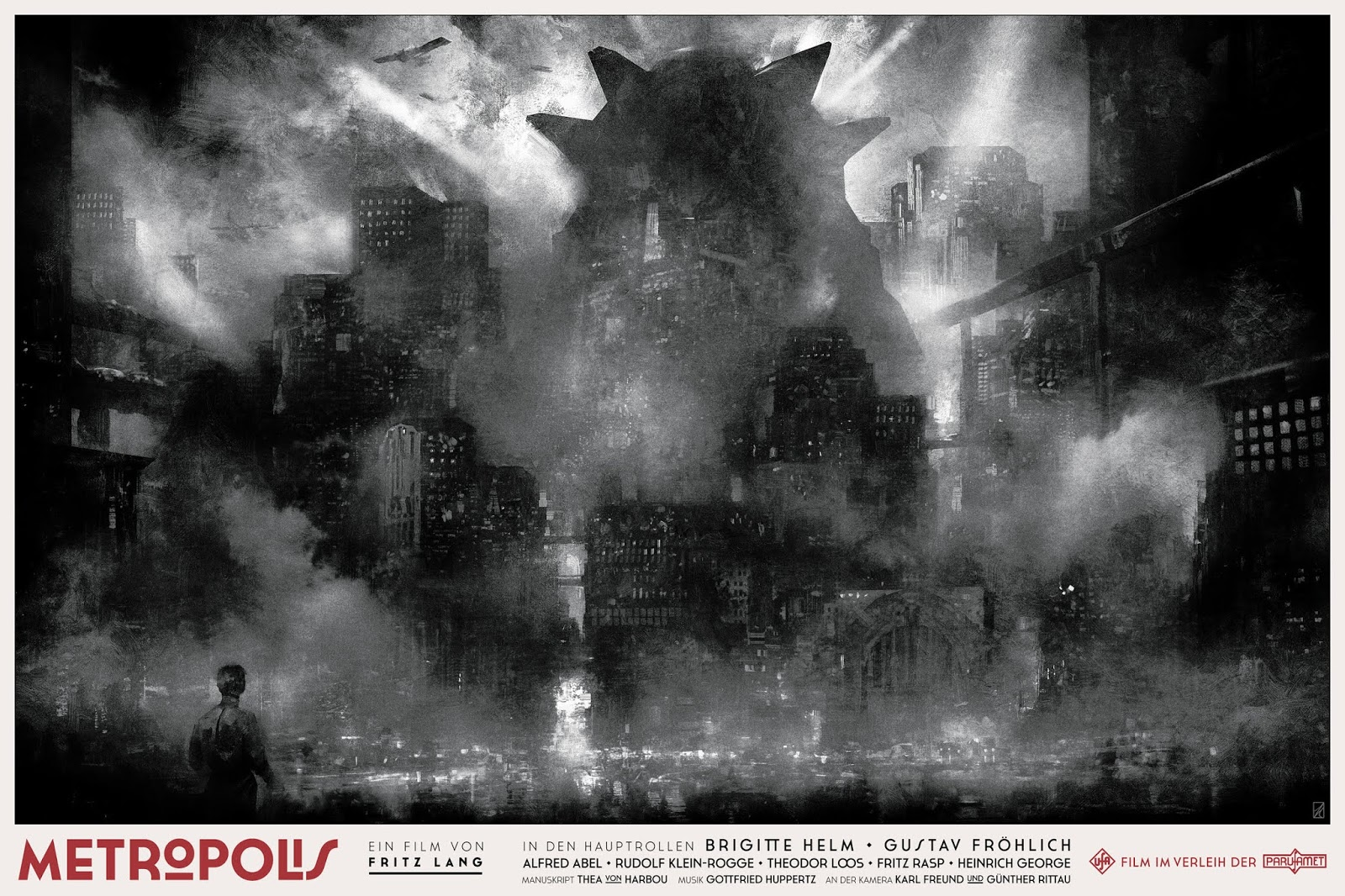 The Geeky Nerfherder: #CoolArt: \'Metropolis\' AP Edition Prints by ...