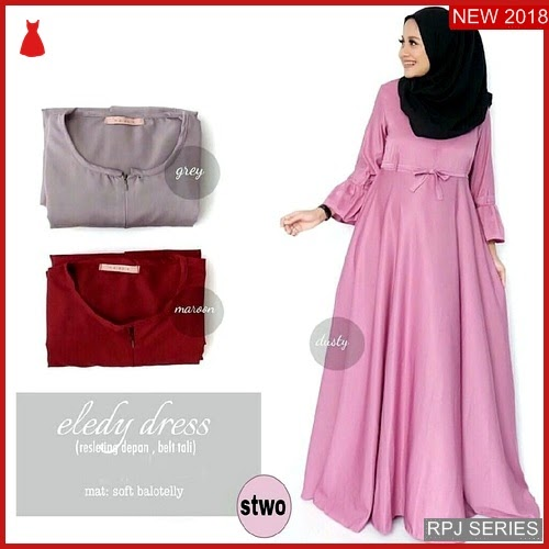 RPJ044D90 Model Dress Eledy Cantik Dress Wanita