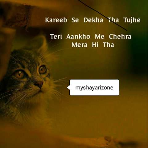 Two Lines Love SMS Image Wallpaper Shayari