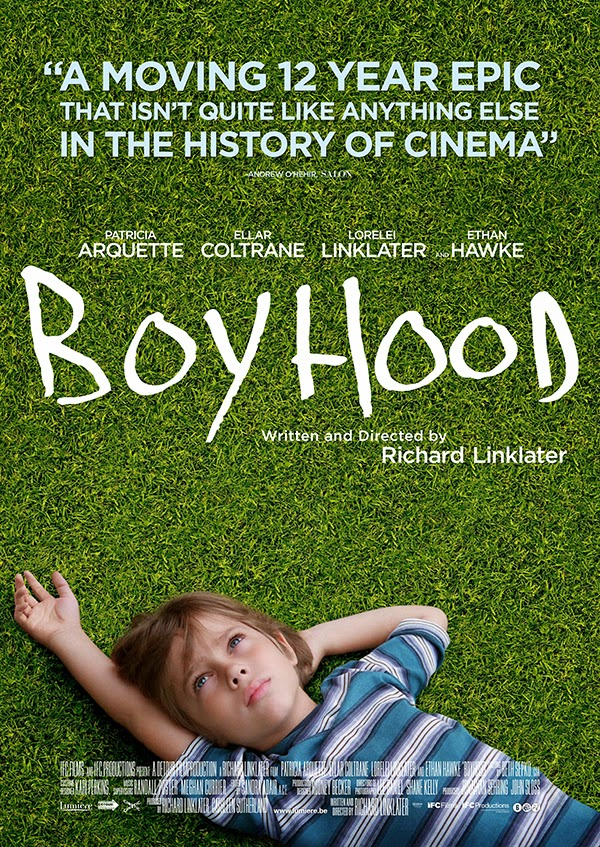 Boyhood, Movie Poster, Directed by Richard Linklater