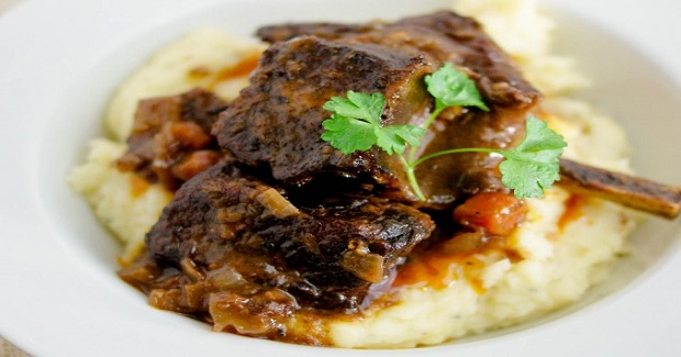 Red Wine Braised Beef Short Ribs Recipe