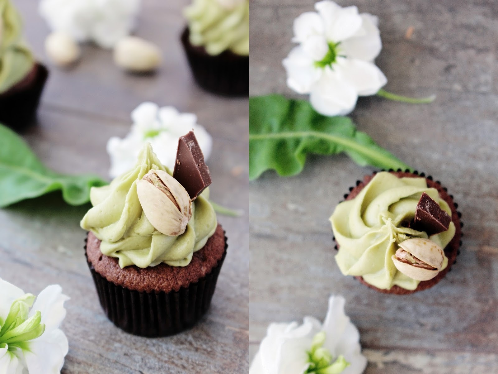Schokoladen Pistazien Minicupcakes_2