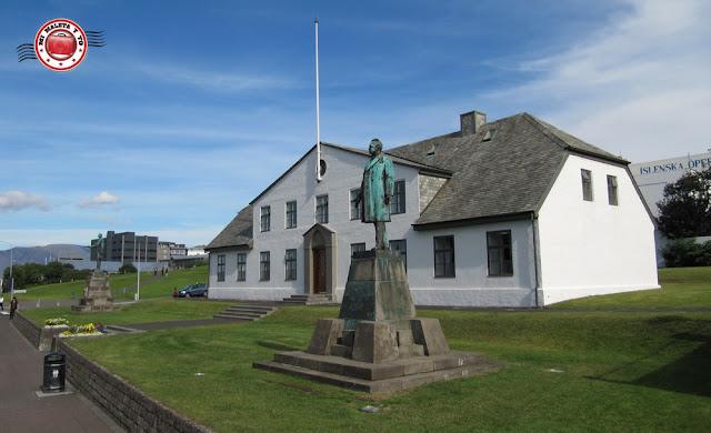 Stjórnarráðið en Reykjavík