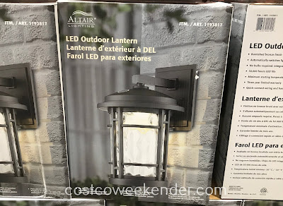 Costco 1193817 - Make the switch to LED with Altair Lighting LED Outdoor Lantern