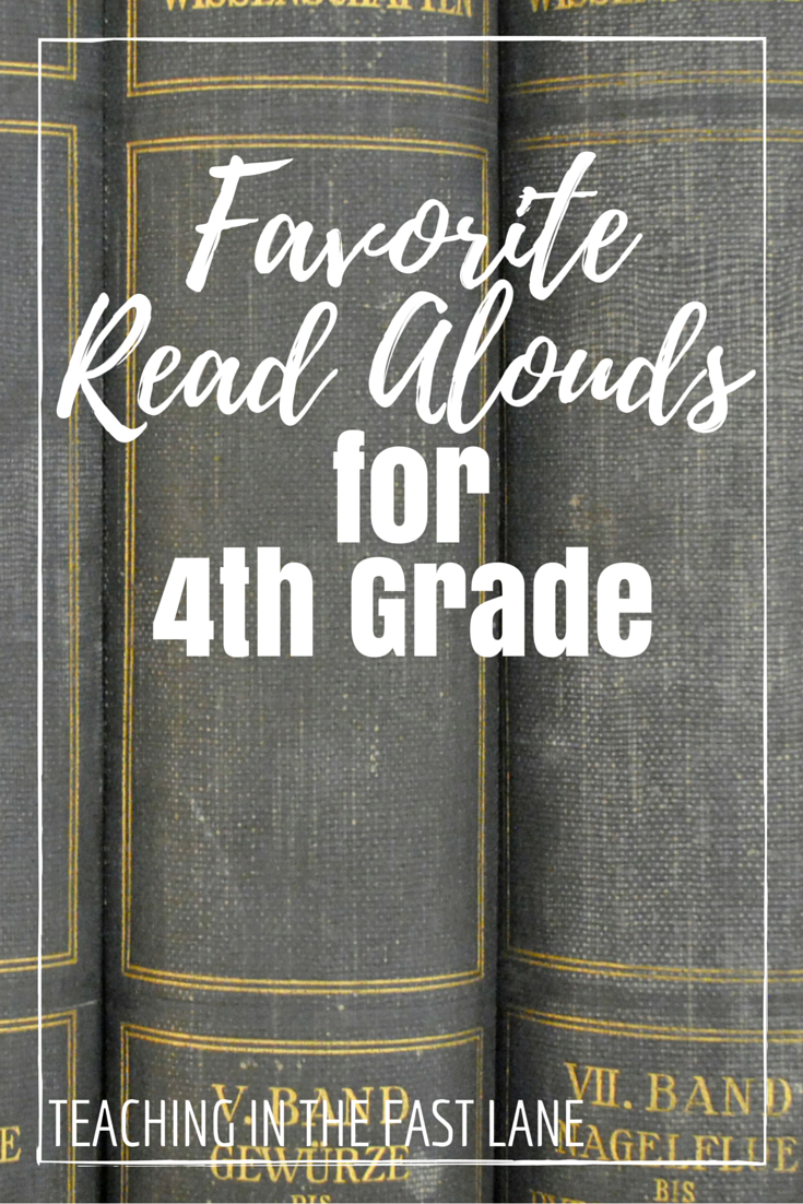 Read aloud picture books for 4th grade