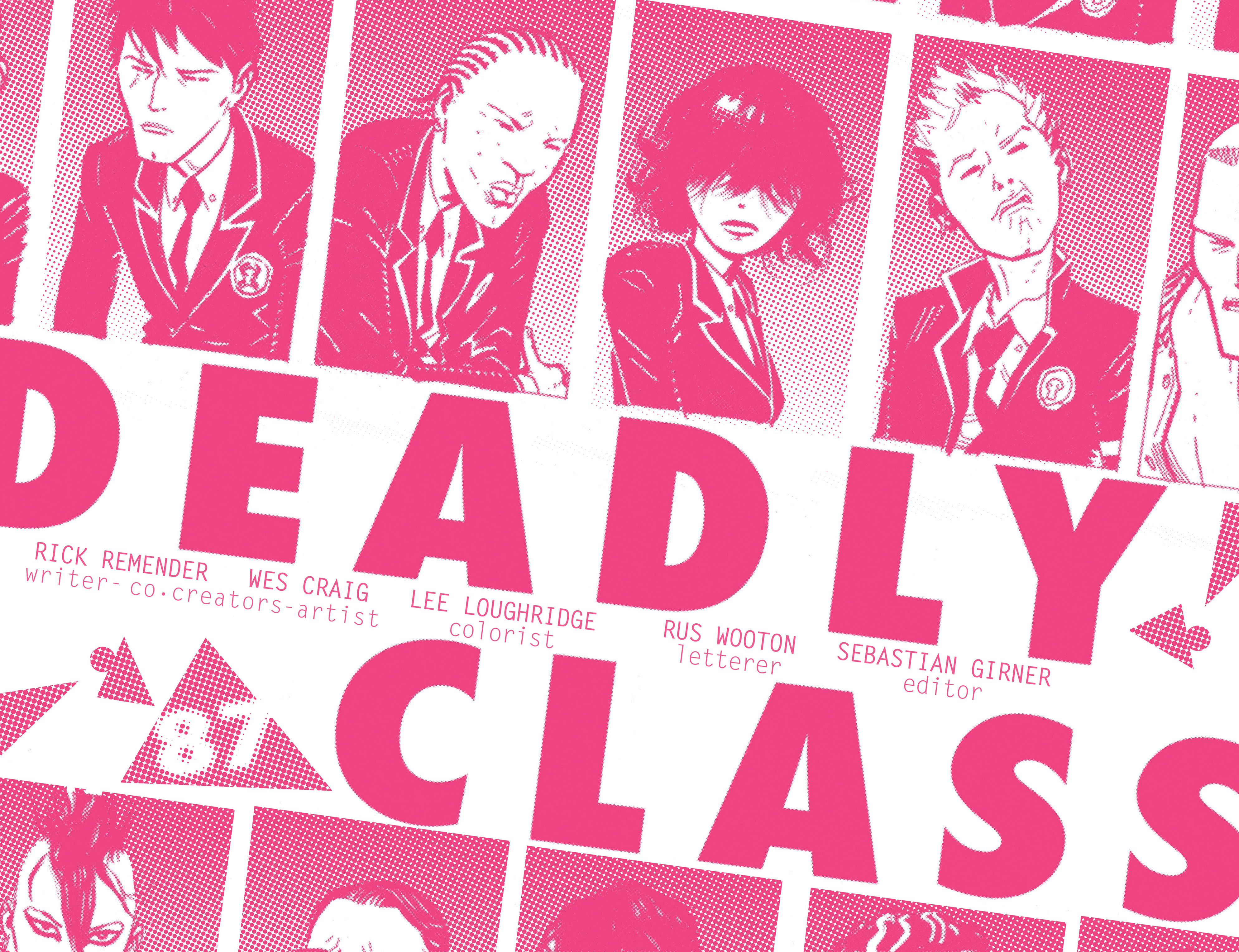 Read online Deadly Class comic -  Issue #7 - 6