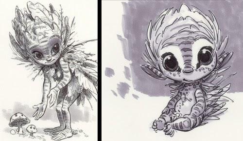 00-Aaron-Blaise-Creature-Sketches-www-designstack-co