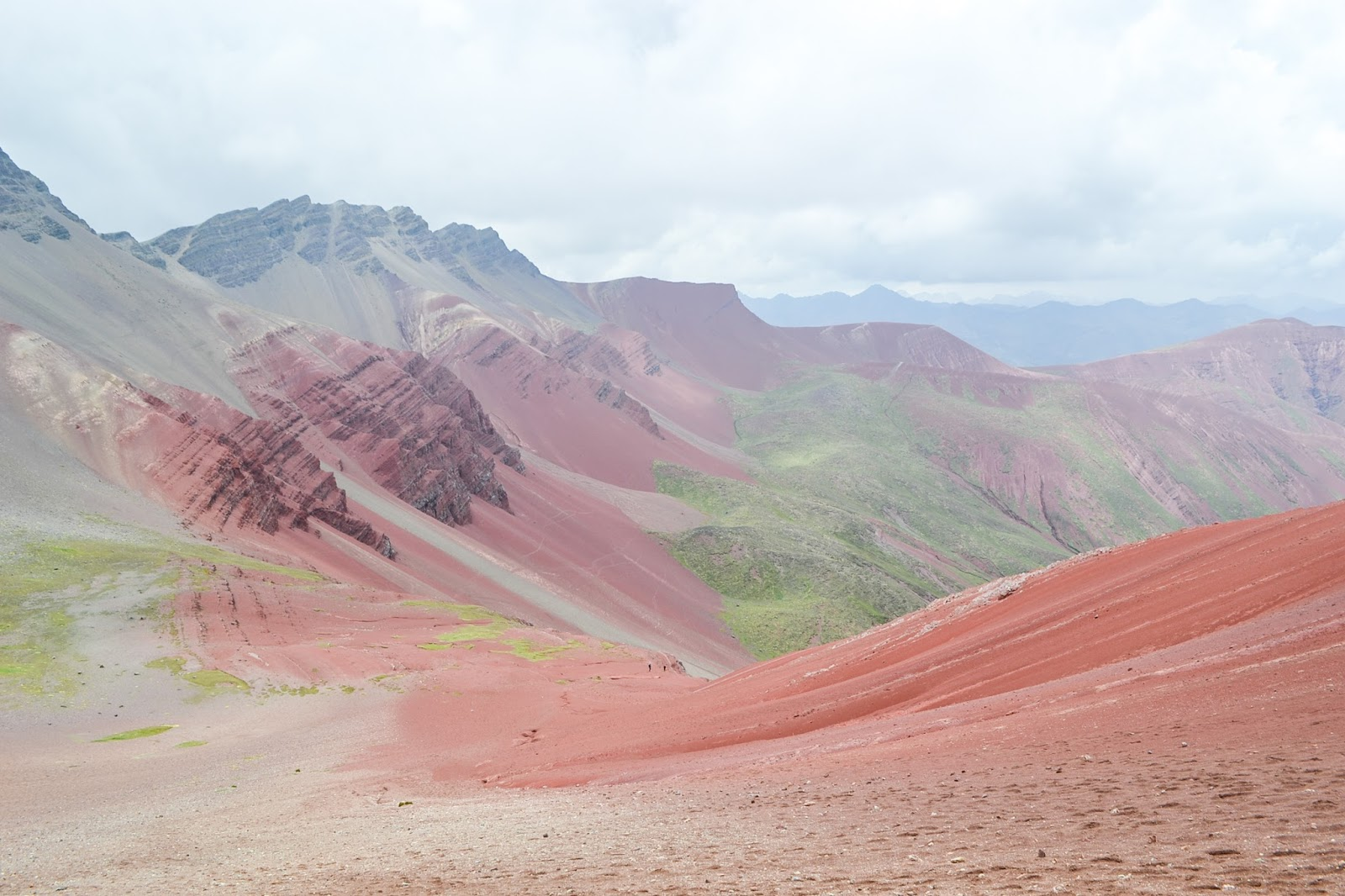 Rainbow Mountain, Red Valley, Peru