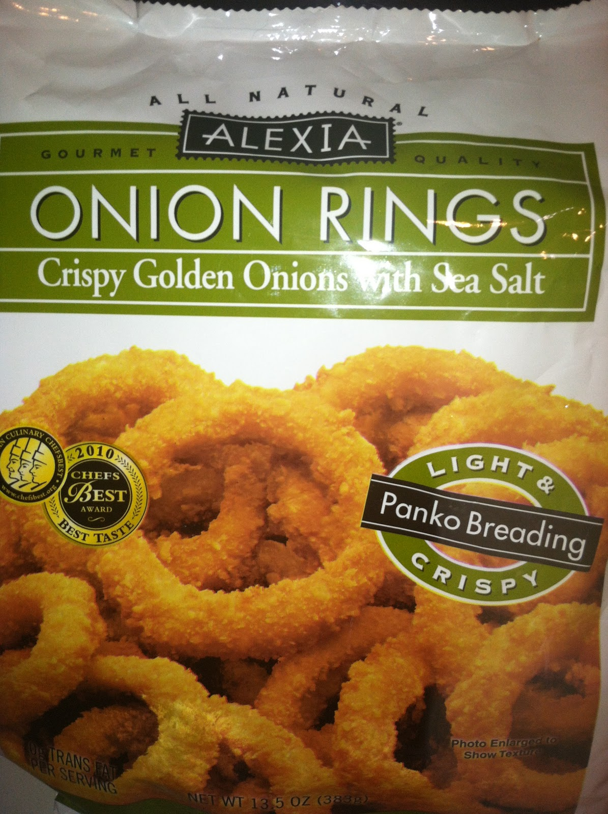 French Fry Diary: French Fry Diary 379: Alexia Onion Rings