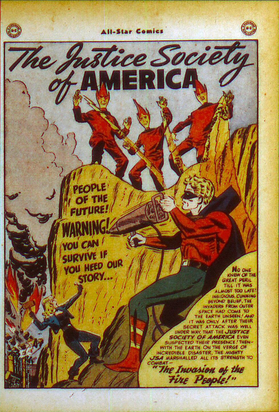 Read online All-Star Comics comic -  Issue #49 - 3