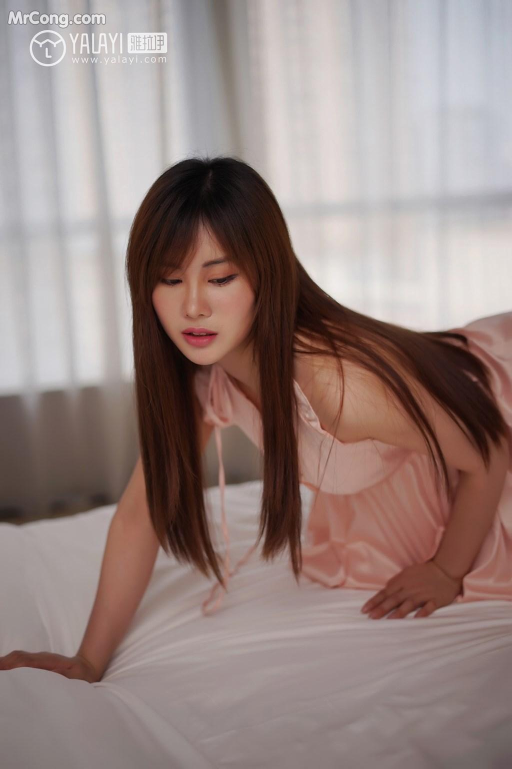 Image YALAYI-No.008-MrCong.com-002 in post YALAYI No.008: 艾妮妮 (36 ảnh)