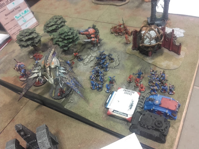 Warhammer 40K Battle report: The Thousand Sons Host of Remembrance ready to deploy!