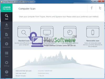 download software antivirus trojan remover, cara melindungi komputer dari virus trojan dengan loaris trojan remover
