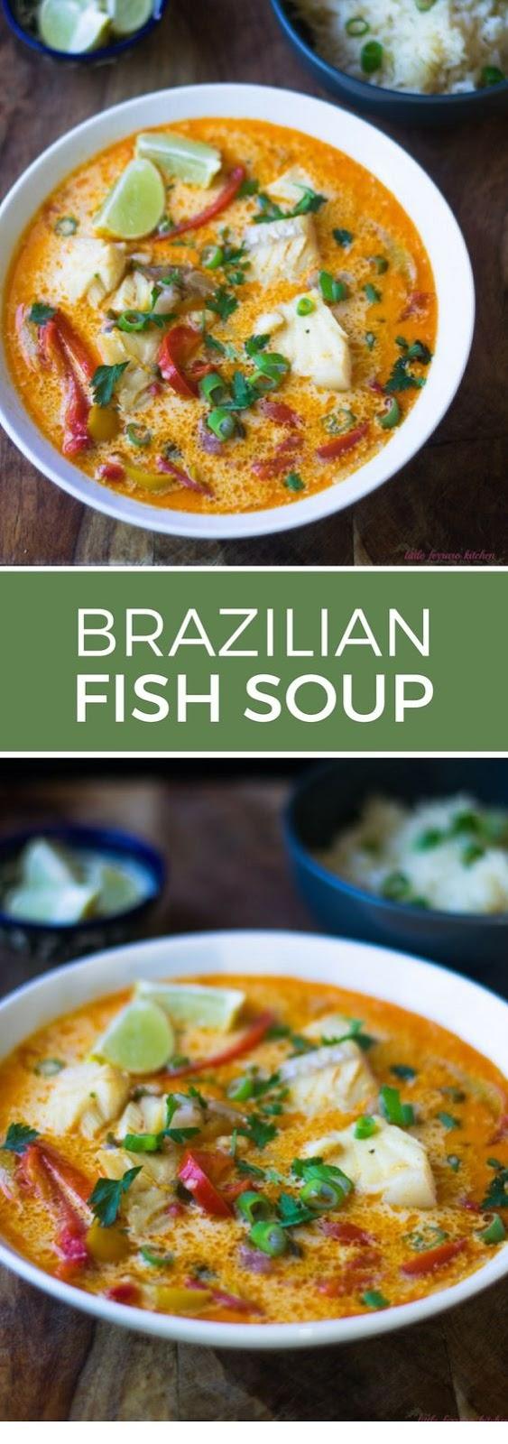 Brazilian Moqueca Fish Soup