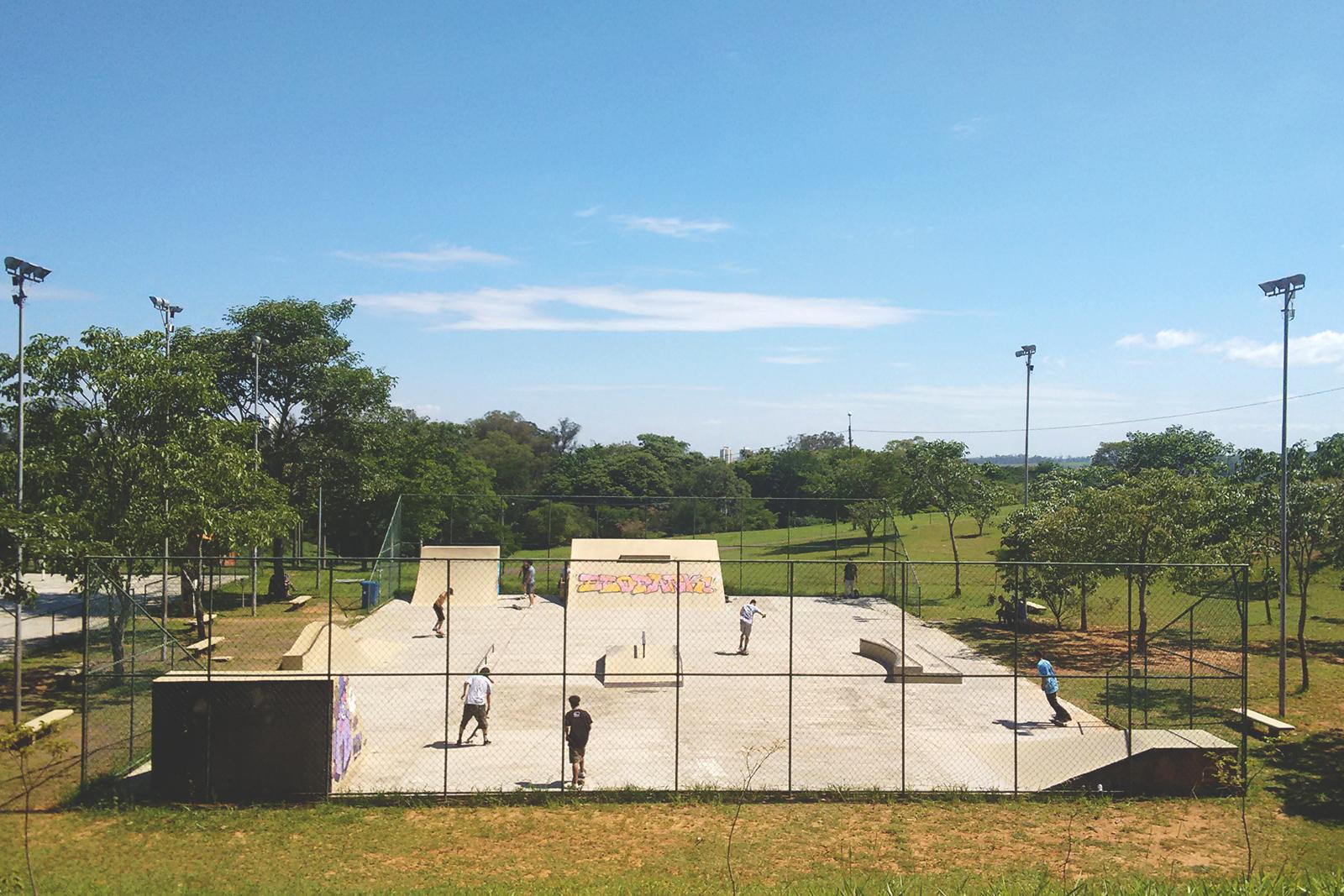pista skate parque ecológico campinas