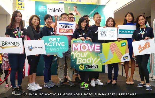Watsons Move Your Body Zumba 2017