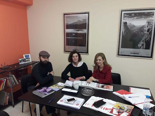Γιάννενα: Συνάντηση με εκπροσώπους των Εργαζομένων στα Κέντρα Πρόληψης είχε η βουλευτής του ΣΥΡΙΖΑ Μερόπη Τζούφη