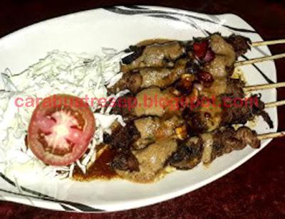 Foto Resep Sate Jamur Tiram Bumbu Kacang Sederhana Spesial Asli Enak