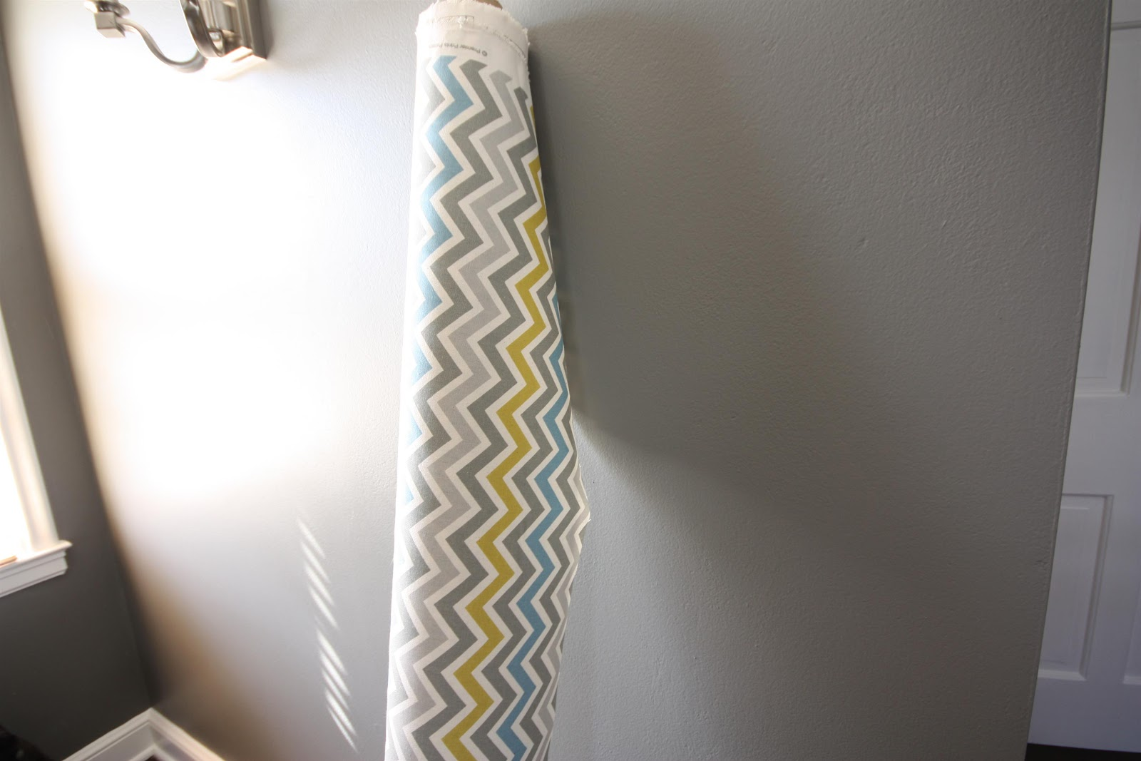 I Was Sure That Wanted Blackout Liner For The Curtains So Went To Joann And Got This Roc Lon Budget During A Half Off