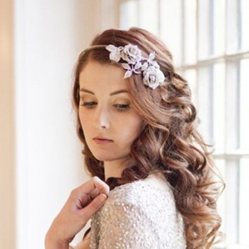 Wedding Hairstyle With Flowers: Wedding Hairstyles With Flowers And Tiara