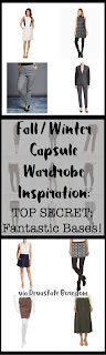 Fall and Winter Capsule Wardrobe Inspiration -- How to Balance Your Bases for a fantastic minimalist curated closet.  Style outfit ideas and different looks for every personal fashion sense! via Devastate Boredom