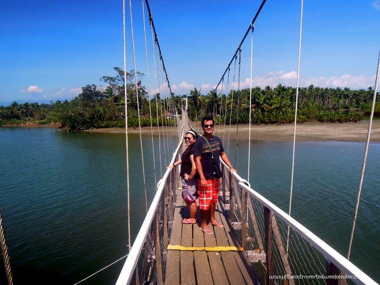 Hanging bridge in Baler
