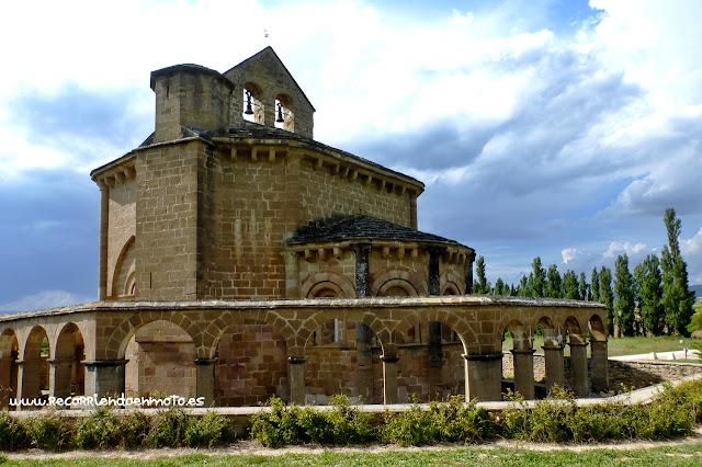 Iglesia de Sta Mª de Eunate, Navarra