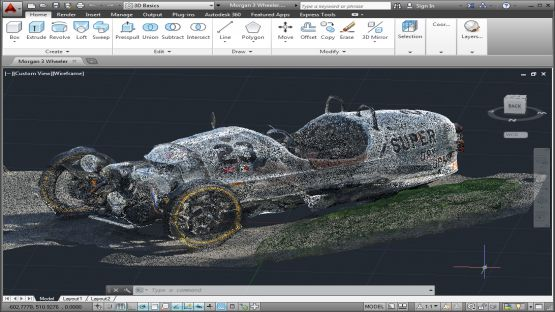 AutoCAD 2014 screenshot 2