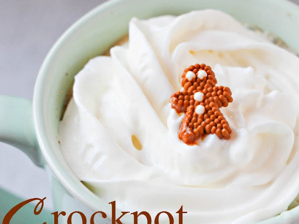 Better than a Coffee Shop: Crockpot Gingerbread Latte (Yes! In the crockpot!)