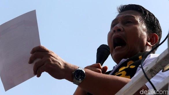 Foto Amien-Rizieq 'Hilang' di IG, PKS: #2019GantiPresiden Kian Kuat
