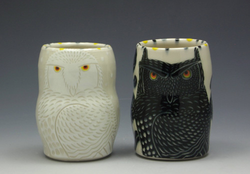 My Owl Barn Folkloric Pottery By Sue Tirrell