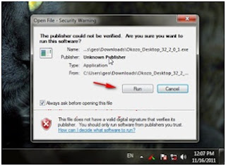 install flash animation okozo di windows 7
