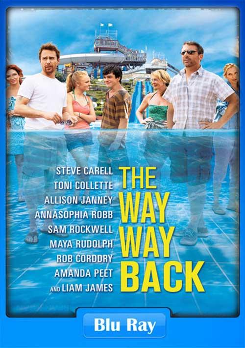 The Way Way Back 2013 BRRip 480p 300MB x264 Poster