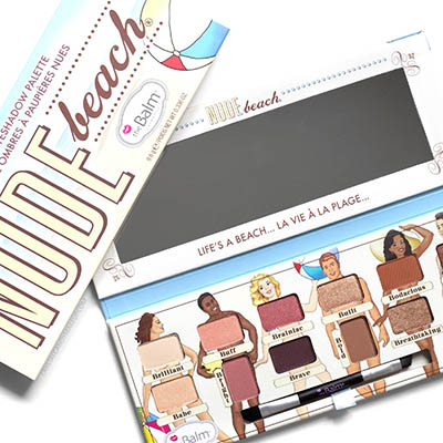 TheBalm Nude Beach Eyeshadow Palette Review