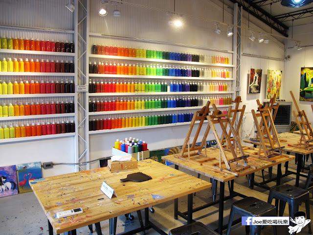 IMG 6490 - CMYK GALLERY | 集會畫教室、藝廊、餐廳於一身的特色餐廳,色彩繽紛的用餐環境,令人賞心悅目,也讓網美們為之瘋狂!