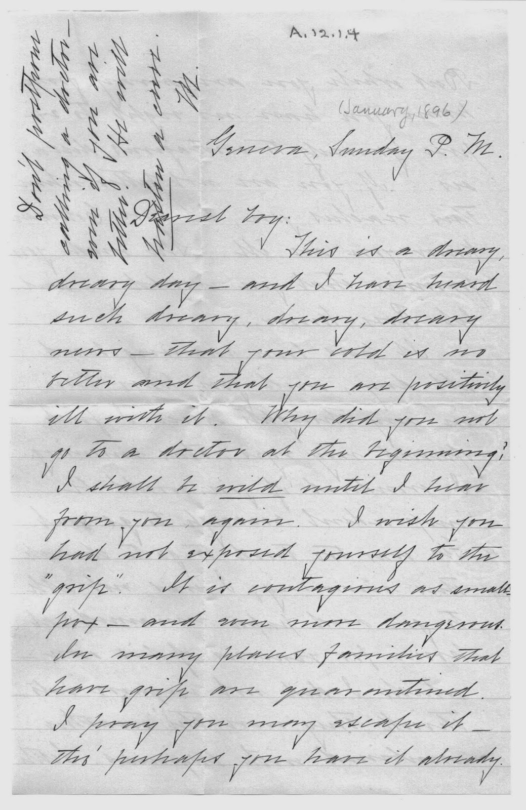 Geneva Historical Society: Reading Old Handwriting