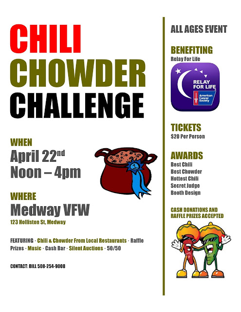 Chili and Chowder Challenge - April 22