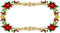 16x9_Christmas_Frame white_tansparent PNG