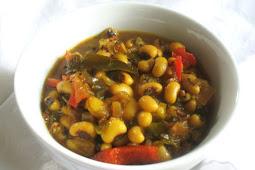 Spicy Black-Eyed Pea Sambar