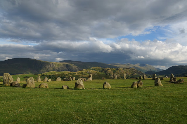 Keswick Derwentwater Hello Freckles Lake District Castlerigg Stone Circle