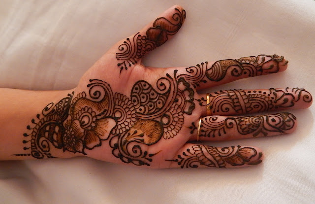 Best Floral Mehndi Design For Bridal 2016