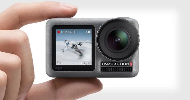 DJI sfida GoPro con Osmo Action