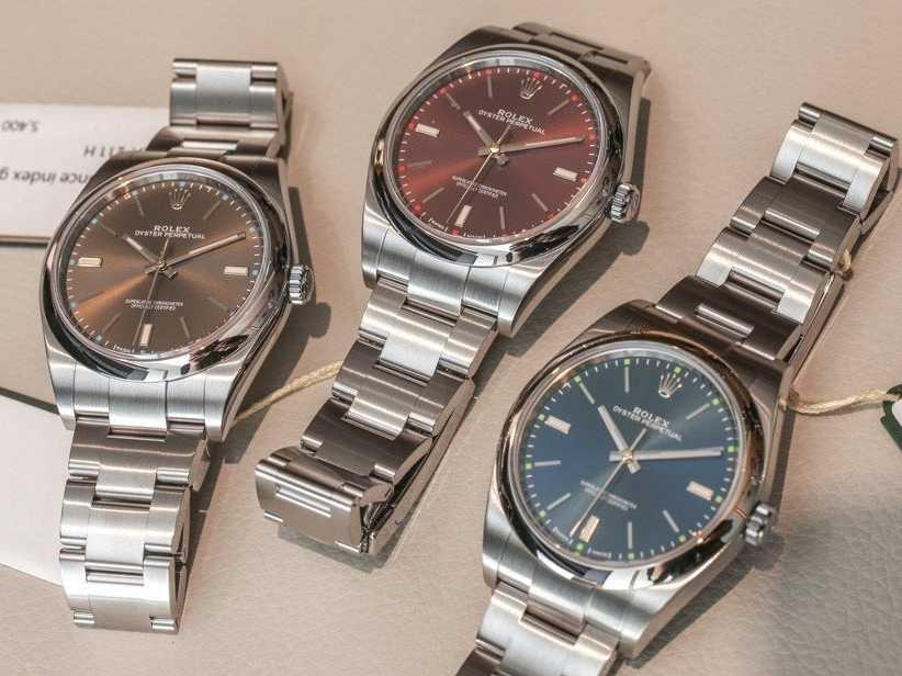 1d5710689d5 Review  Replica Rolex Oyster Perpetual 39mm Watch 114300