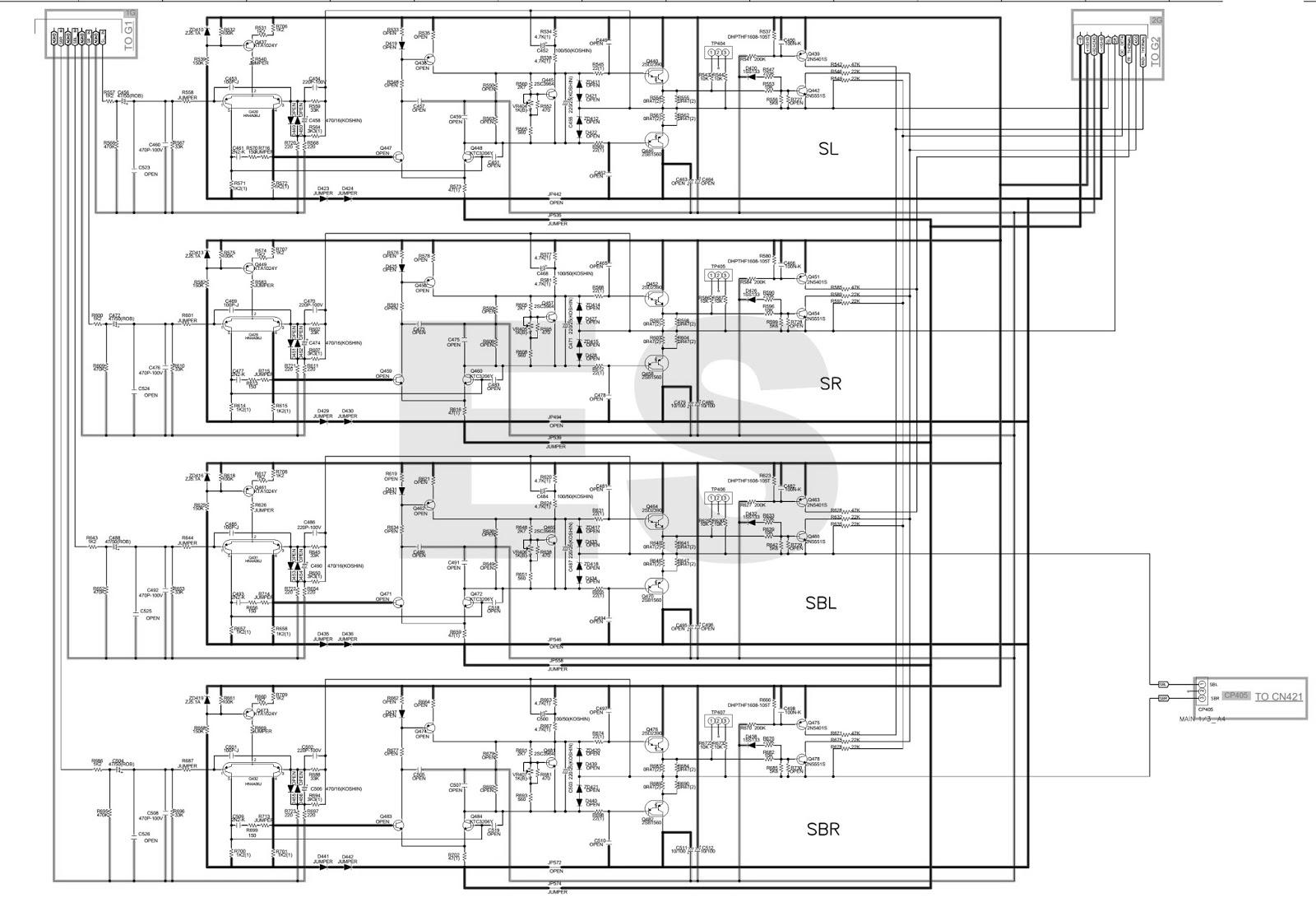Electronic Equipment Repair Centre Denon Avr X W