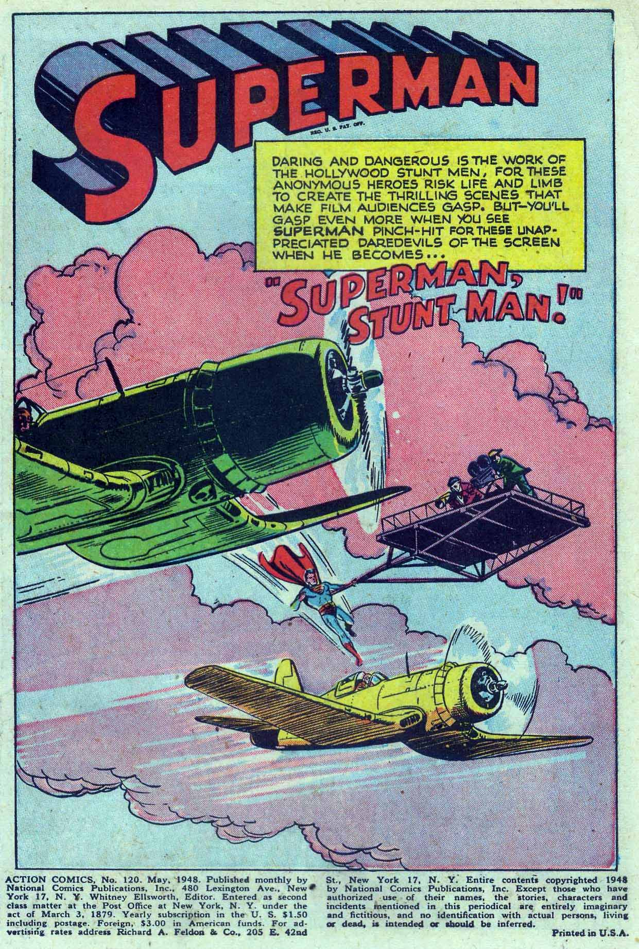 Read online Action Comics (1938) comic -  Issue #120 - 3