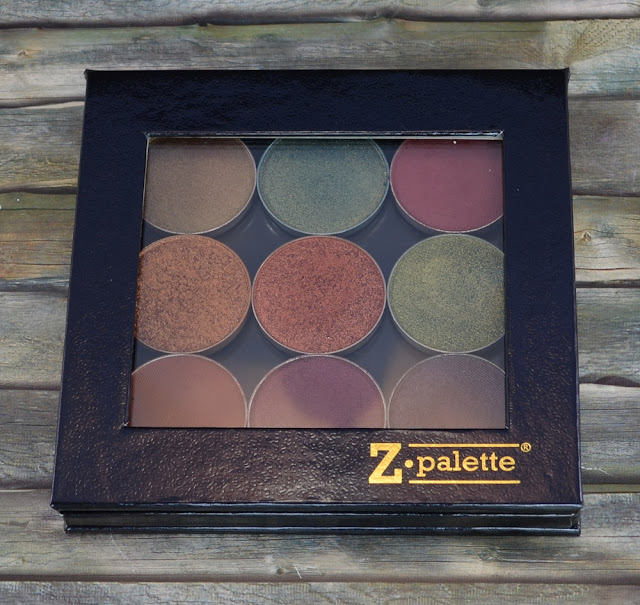 Z-Palette mit Makeup Geek Lidschatten